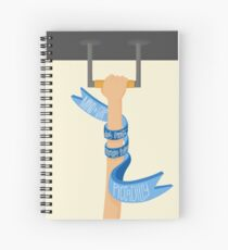 Piccadilly Line (LondonTube) Spiral Notebook