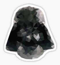 Darth Vader Triangles Sticker