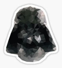 Darth Vader Triangles Sticker