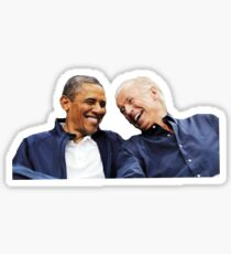 bff obama joe Sticker