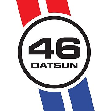 Vintage Datsun Racing Livery by colinbrunt