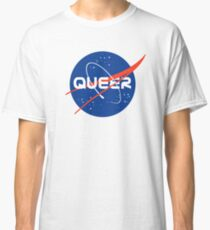 Queer - Nasa inspired logo Classic T-Shirt