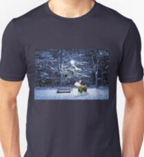 Chillydog in the snow T-Shirt