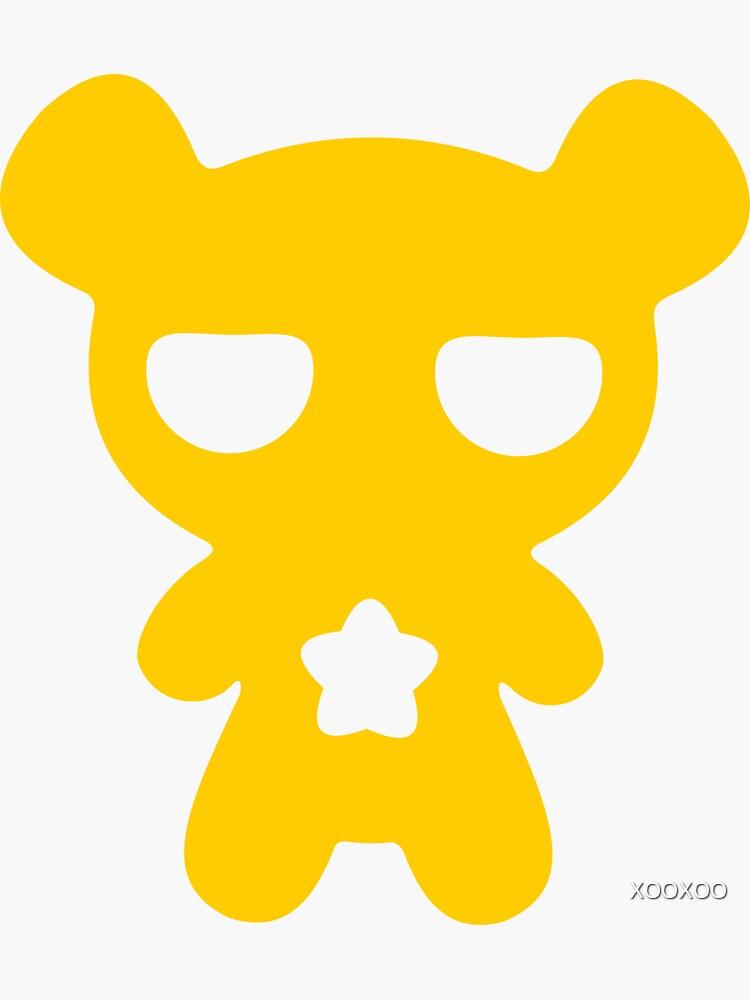 Beachtung! Gelber fauler Bär! von XOOXOO