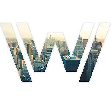 Westworld Skyline by JoeyBell