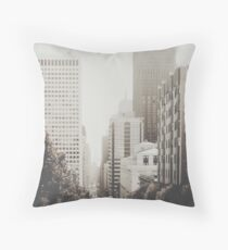 San Francisco I Throw Pillow