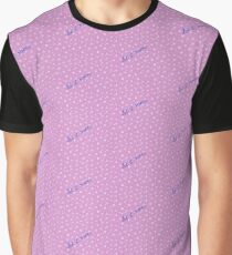 Let It Snow - Pink Graphic T-Shirt