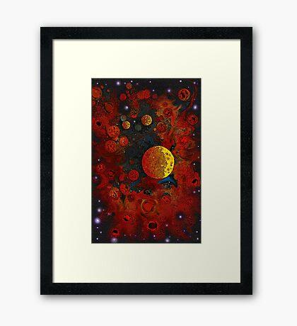 Planet Nursery * Framed Print