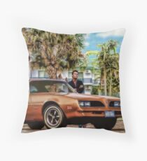 Jim Rockford - The Rockford Files Throw Pillow