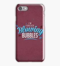 West Ham - Bubbles Artwork iPhone Case/Skin