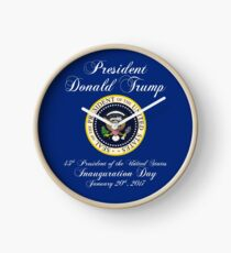 President Donald J. Trump Inauguration Day 2017 Clock