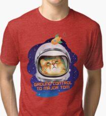 Ground Control to Major Tom Tri-blend T-Shirt
