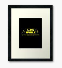 Lab Wars Framed Print