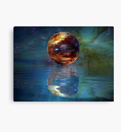 Galactic Light Canvas Print