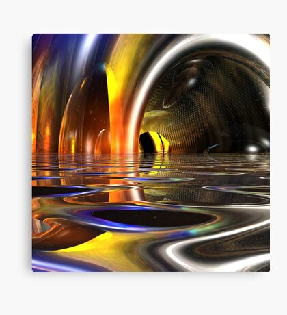 Cavern Of Light Canvas Print