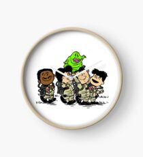 Funny Ghostbuster Team Clock