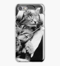 Jack the headphone cat iPhone Case/Skin