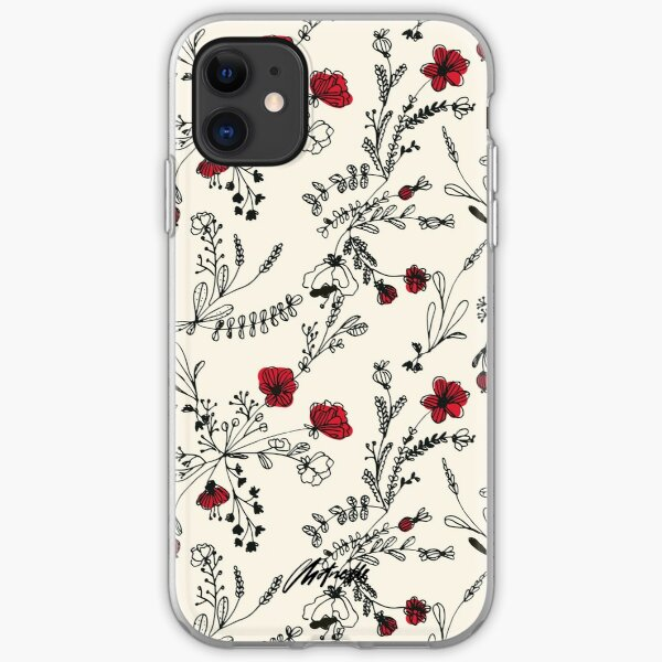 Flower Meower (Navy) iphone 11 case