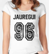 Jauregui'96 Women's Fitted Scoop T-Shirt