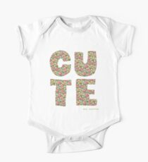 Cute - cynical version Kids Clothes
