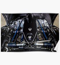 Maserati MC12 Engine Bay Poster