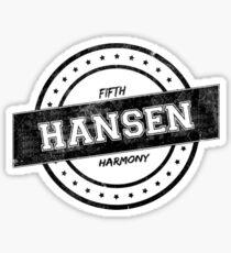 HANSEN Sticker
