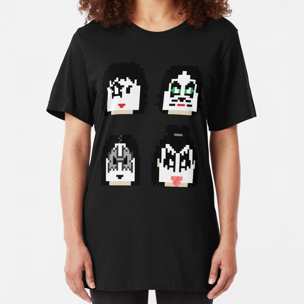 8-Bit Gods of Thunder Slim Fit T-Shirt