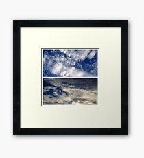 Broadway Sky - September Framed Print