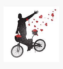 Graffiti Bicycle  Photographic Print