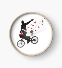 Graffiti Bicycle  Clock