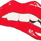 Pop Art Lips by Cameron Kinchen