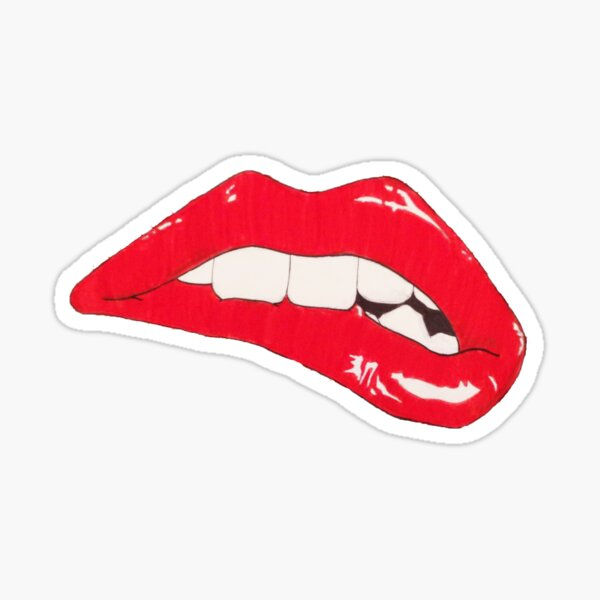 Pop Art Lips Sticker