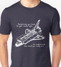 Space Shuttle - Getting High (WHITE) T-Shirt
