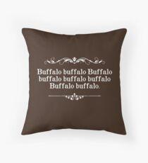 Cojín Búfalo Buffalo Sentence