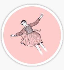 Eleven in Pink Heaven Sticker