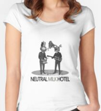 Neutral Milk Hotel Women's Fitted Scoop T-Shirt