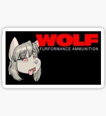 A WooooOOOOoooolf Sticker