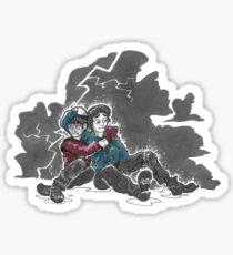 Jonty in Hurricane Sticker