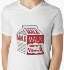 Malk Men's V-Neck T-Shirt