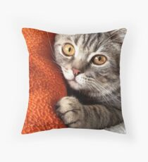 Indomitable serenity Throw Pillow