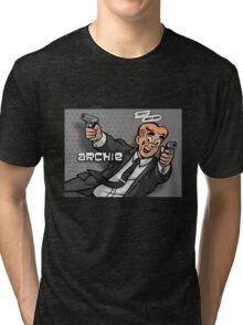 Archer meets Archie Tri-blend T-Shirt