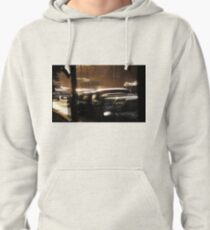 sun from the west Pullover Hoodie