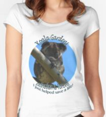 Extinction is forever - help save Jordan Women's Fitted Scoop T-Shirt
