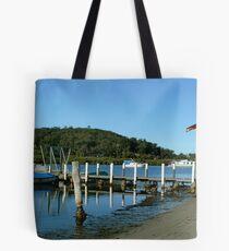 Lakes Boat shed Tote Bag