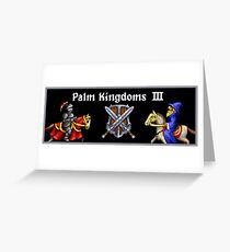 Palm Kingdoms III - 1 Greeting Card