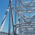 Huey P Long Bridge, Louisiana by Deborah Singer
