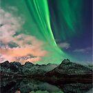 Aurora Borealis - Svolvaer, Norway by Greg Earl