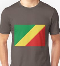 Flag of the Republic of the Congo Unisex T-Shirt