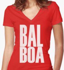 Swing Dance - Balboa Women's Fitted V-Neck T-Shirt