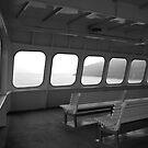 Ferry to San Juan Islands, Washington by Deborah Singer